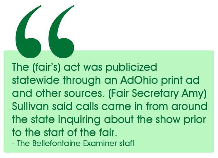 Bellefontaine Examiner Testimonial