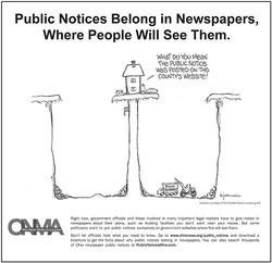 Public Notices Cartoon