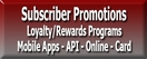 Subscriber Promotions